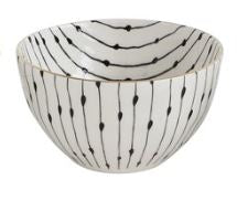 Black & White Patterned Bowl Collection
