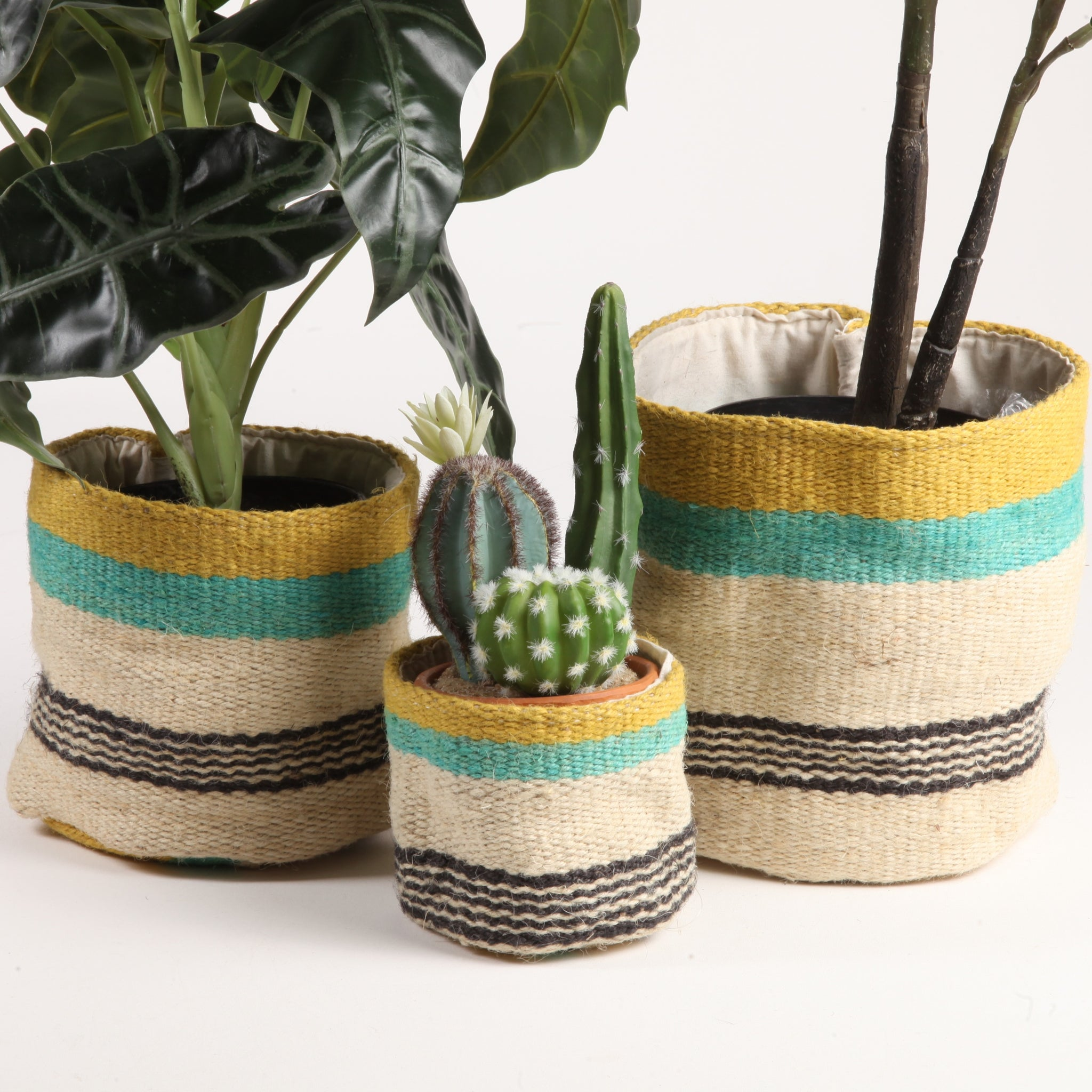 Bright Jute Baskets