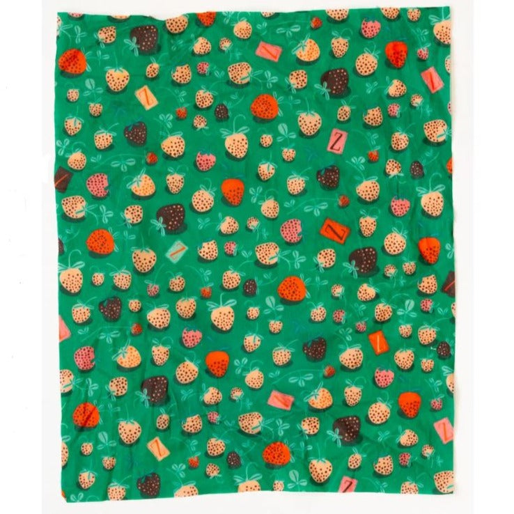 Strawberry Fields Beeswax Wrap