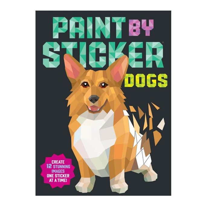 Dog Paint by Sticker Book