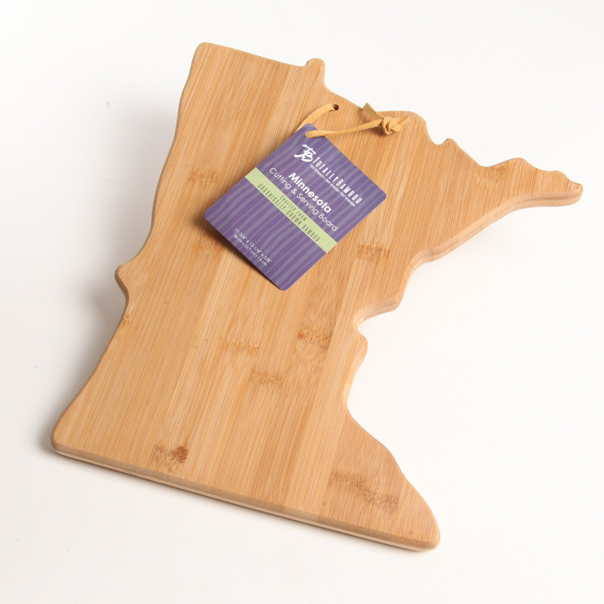 Natural Bamboo MN Cutting Board