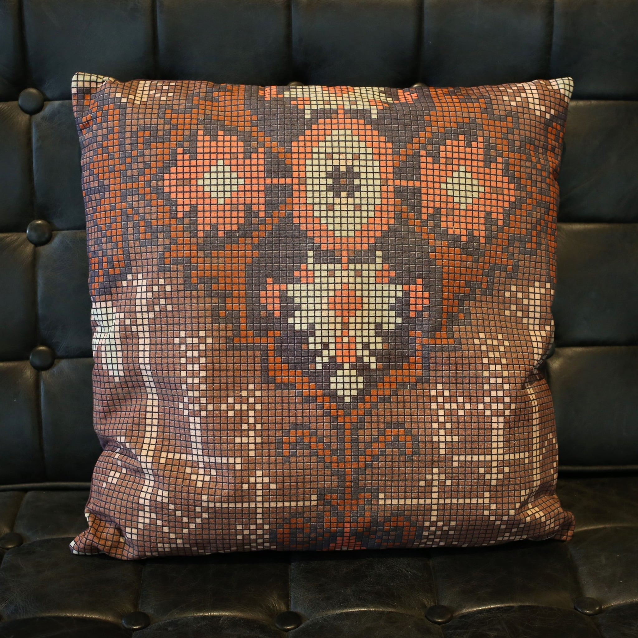 Vintage Rug Inspired Pillow