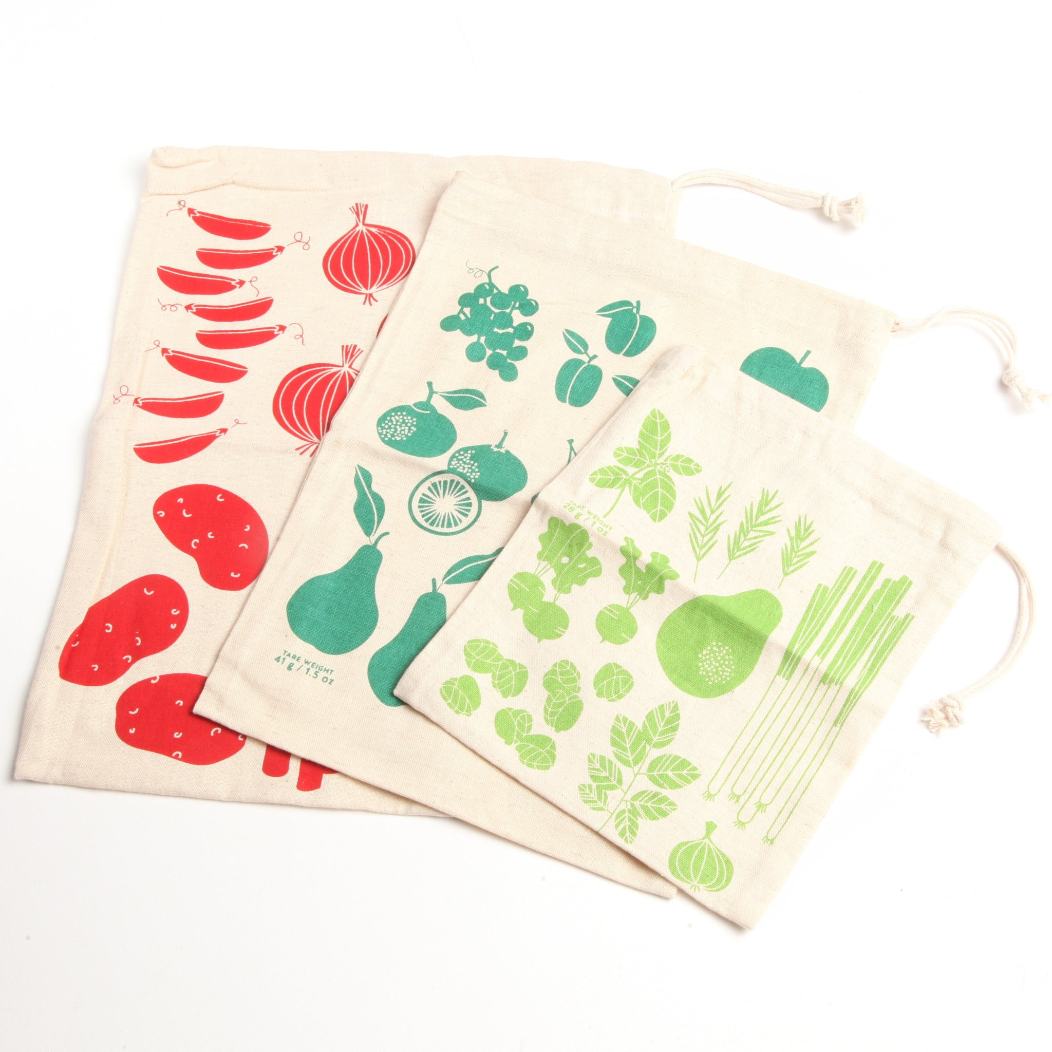 Printed Reusable Produce Bags