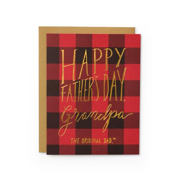 Grandpa, The Original Dad Father's Day Card