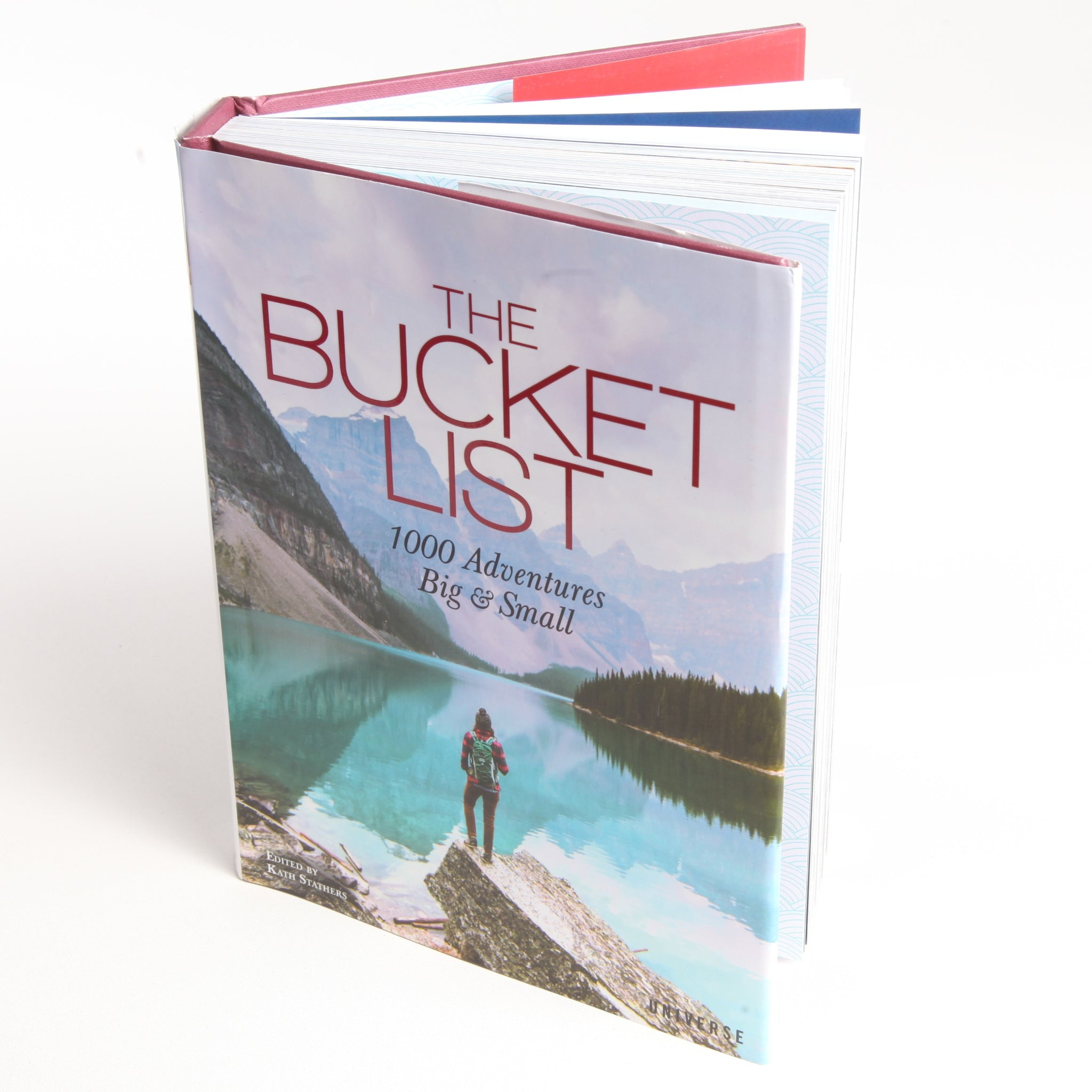 The Bucket List 1000 Adventures Book