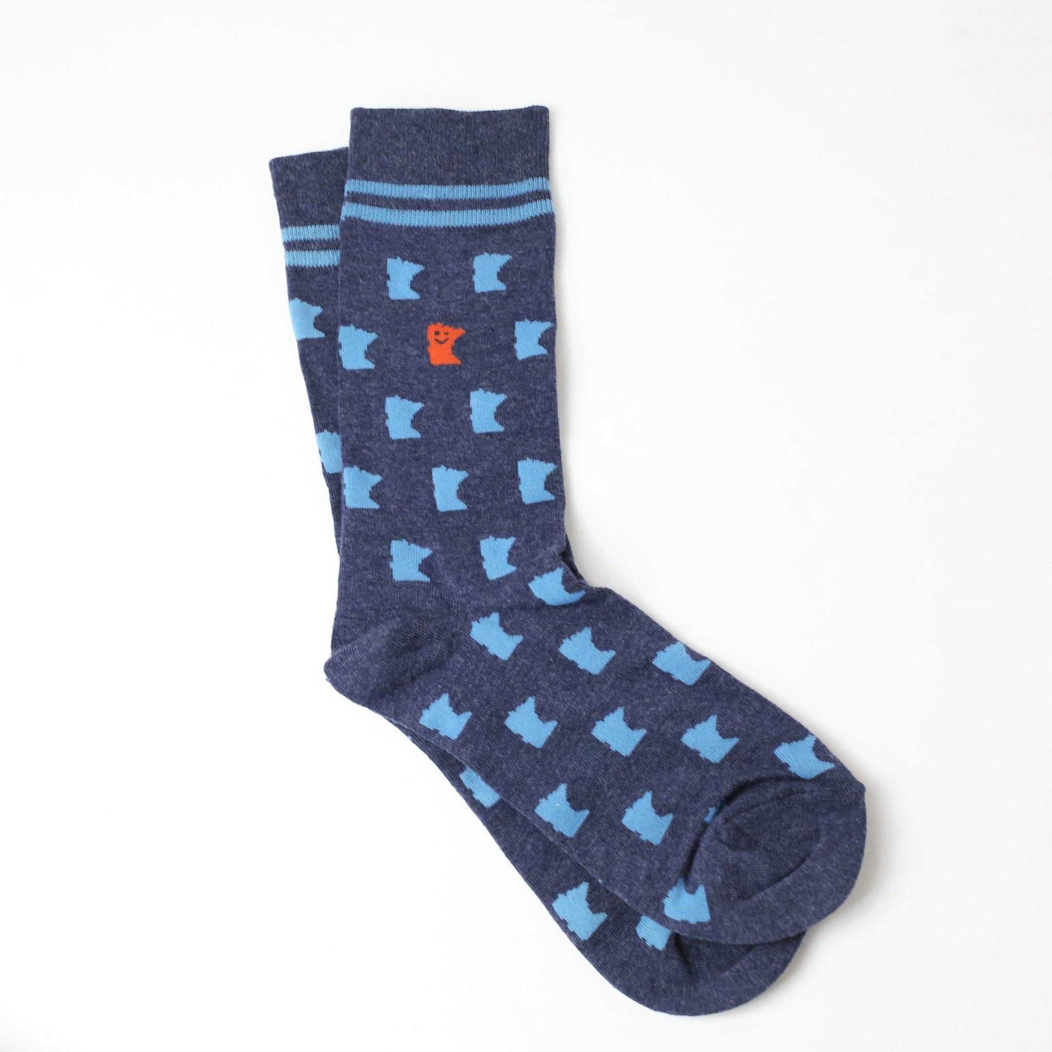 Men's Navy MN Socks