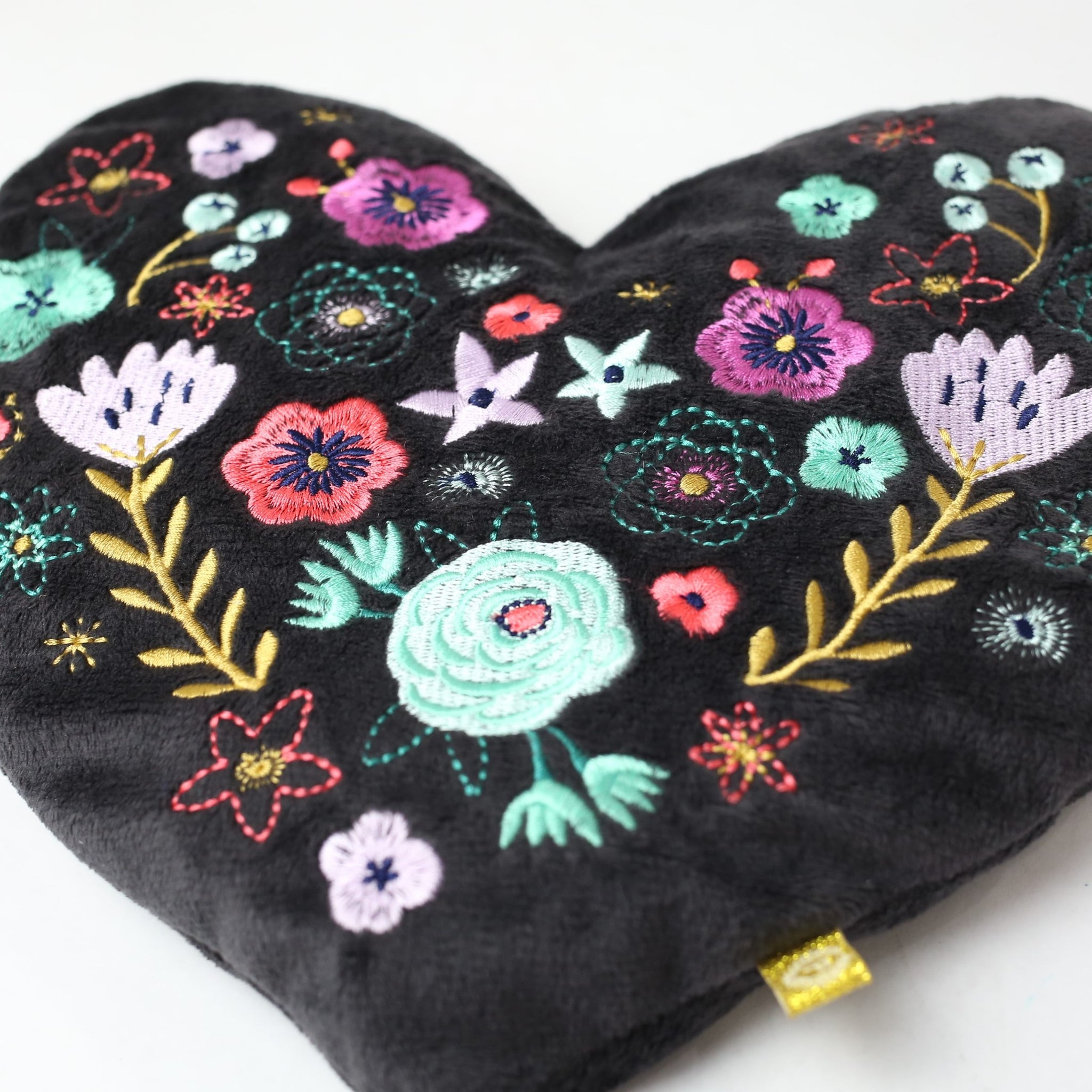 Embroidered Heart Huggable
