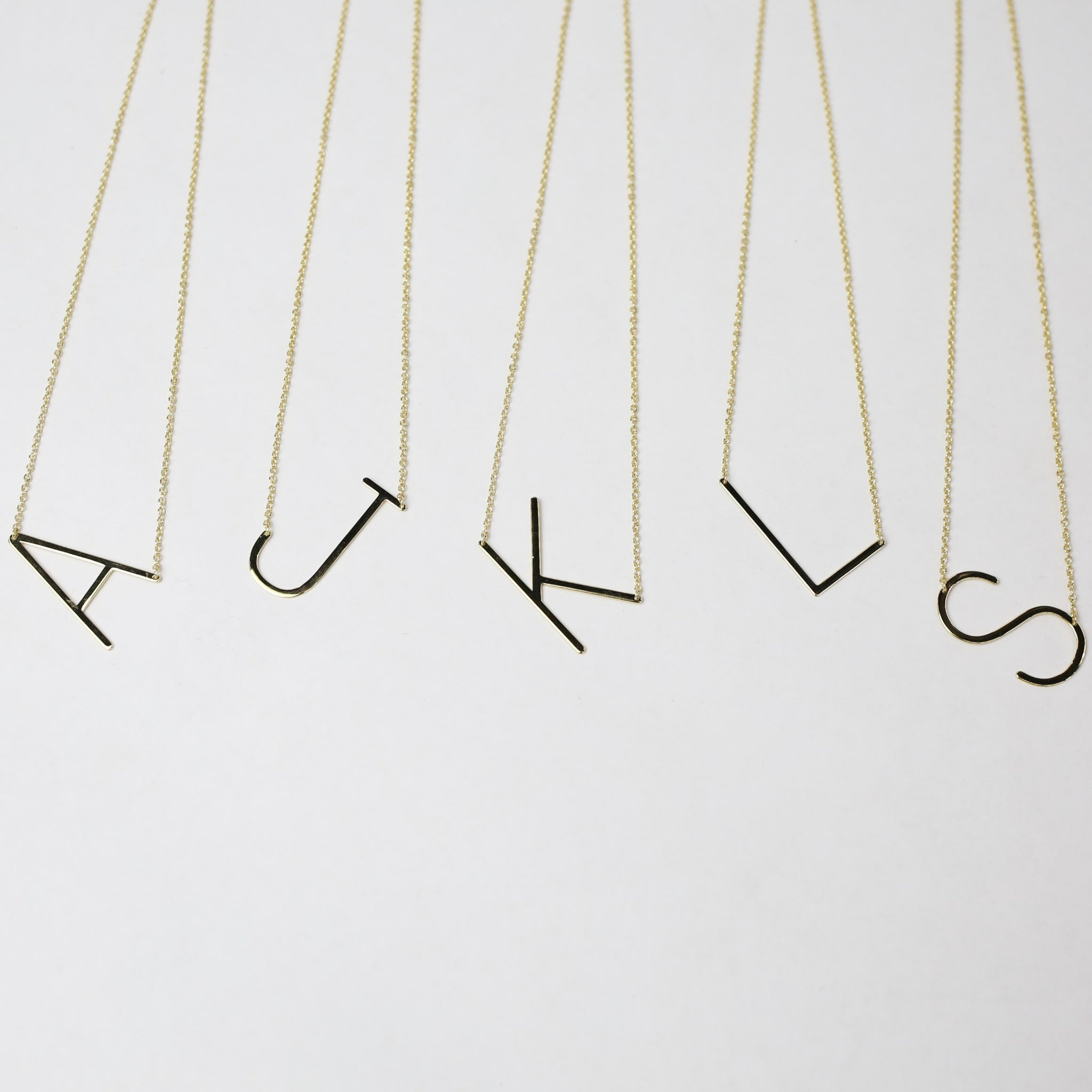 Large Initial Necklaces