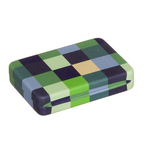 Plaid Jewelry Travel Case
