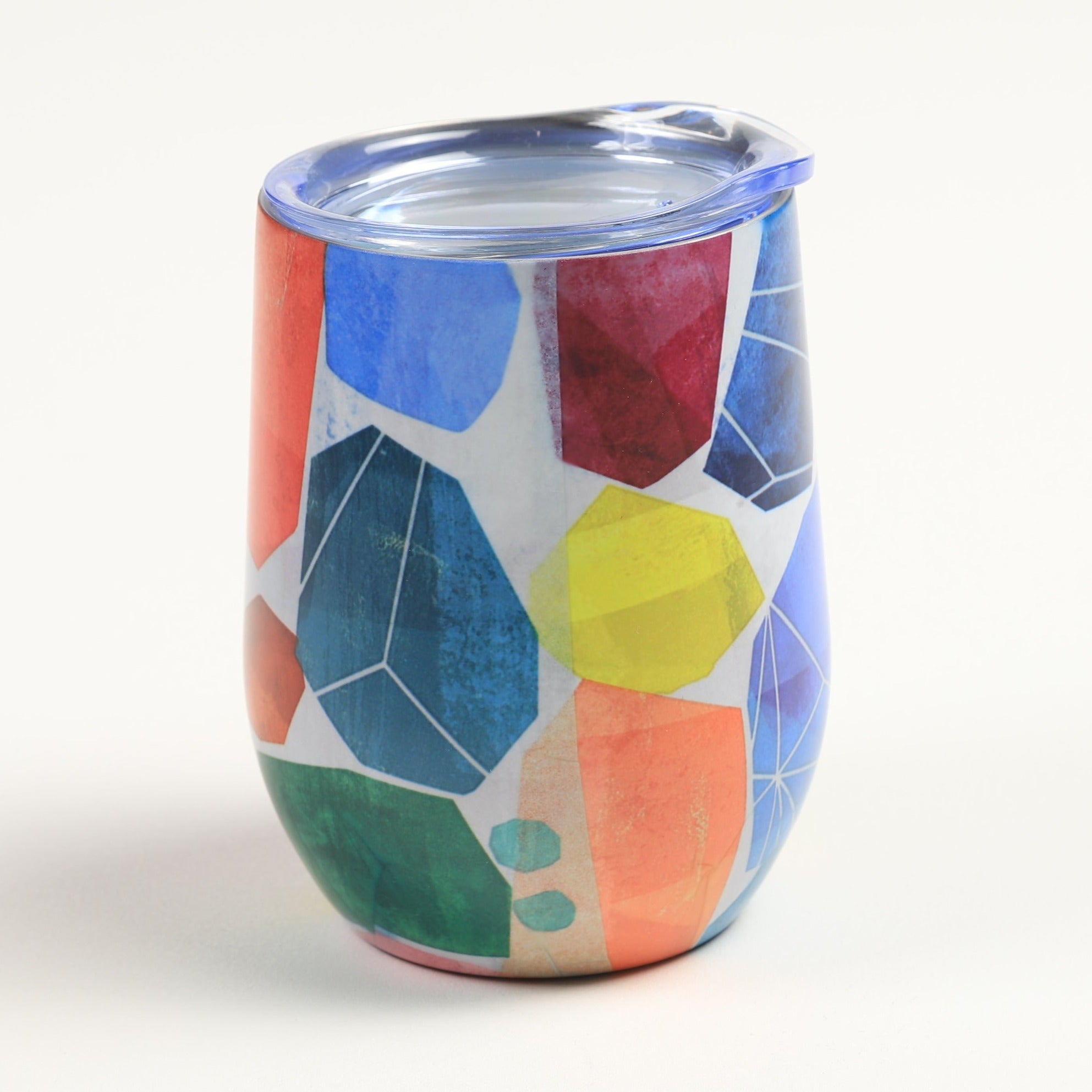 Abstract Wine Tumblers