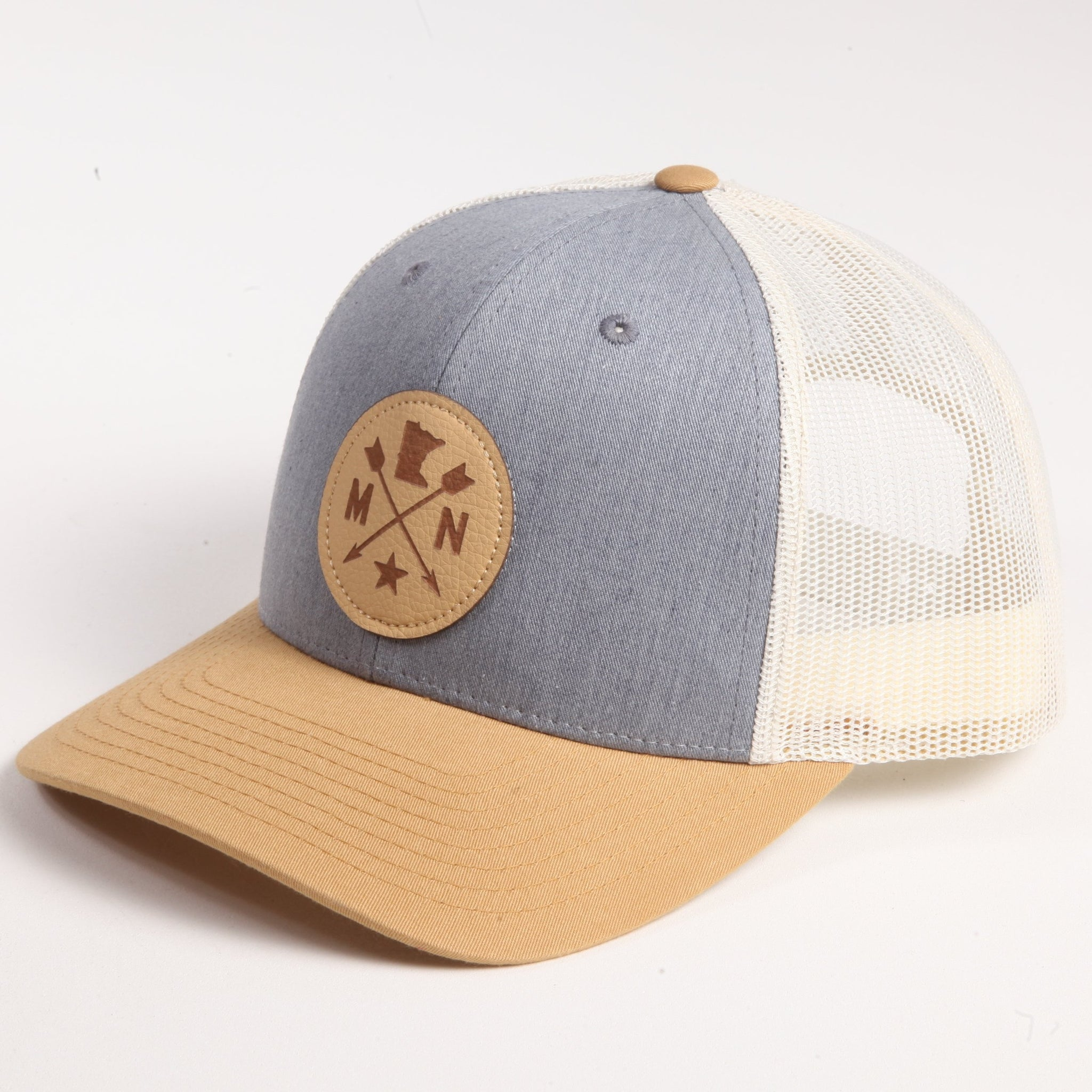 Navy/Tan MN Arrow Hat