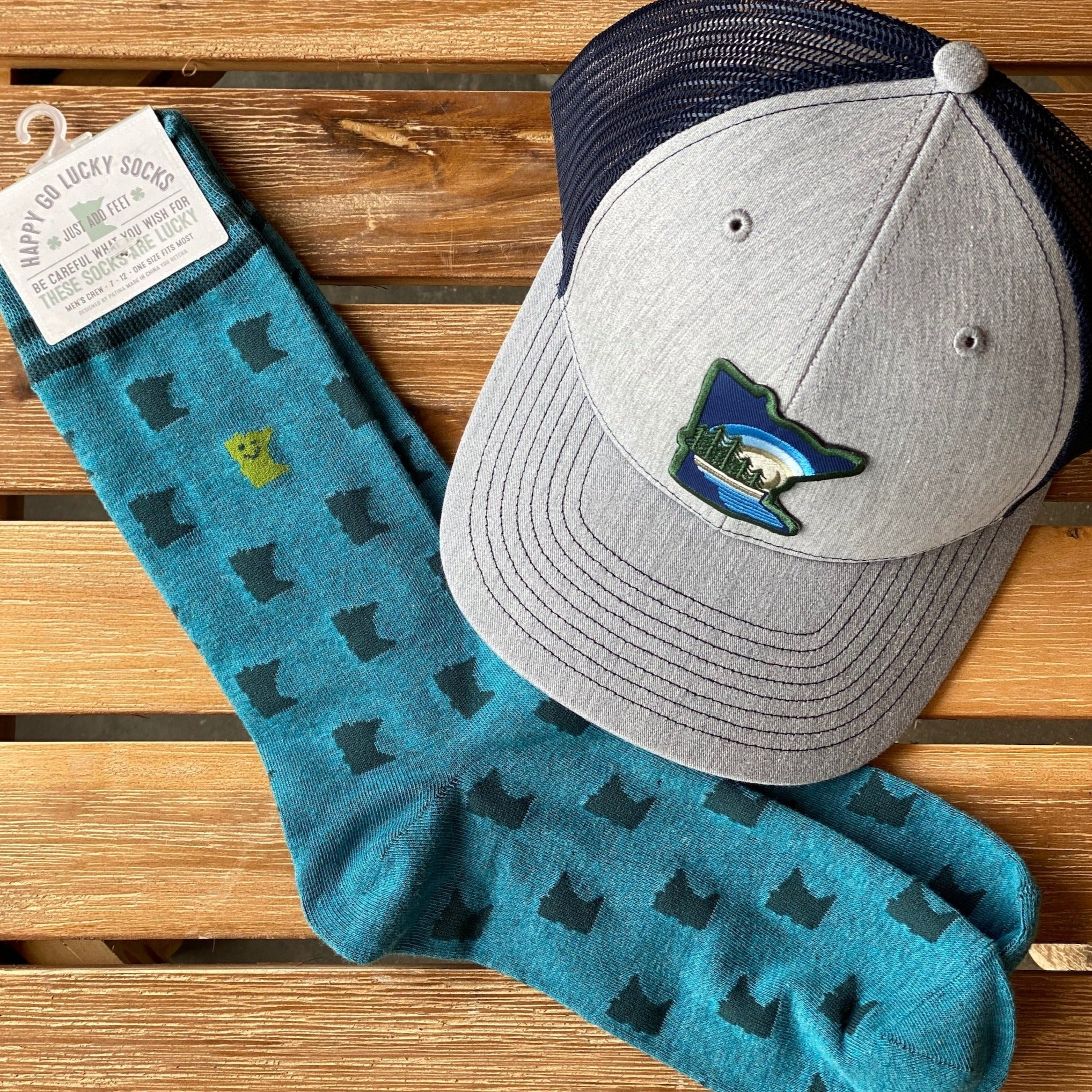 MN Hat & Sock Bundle