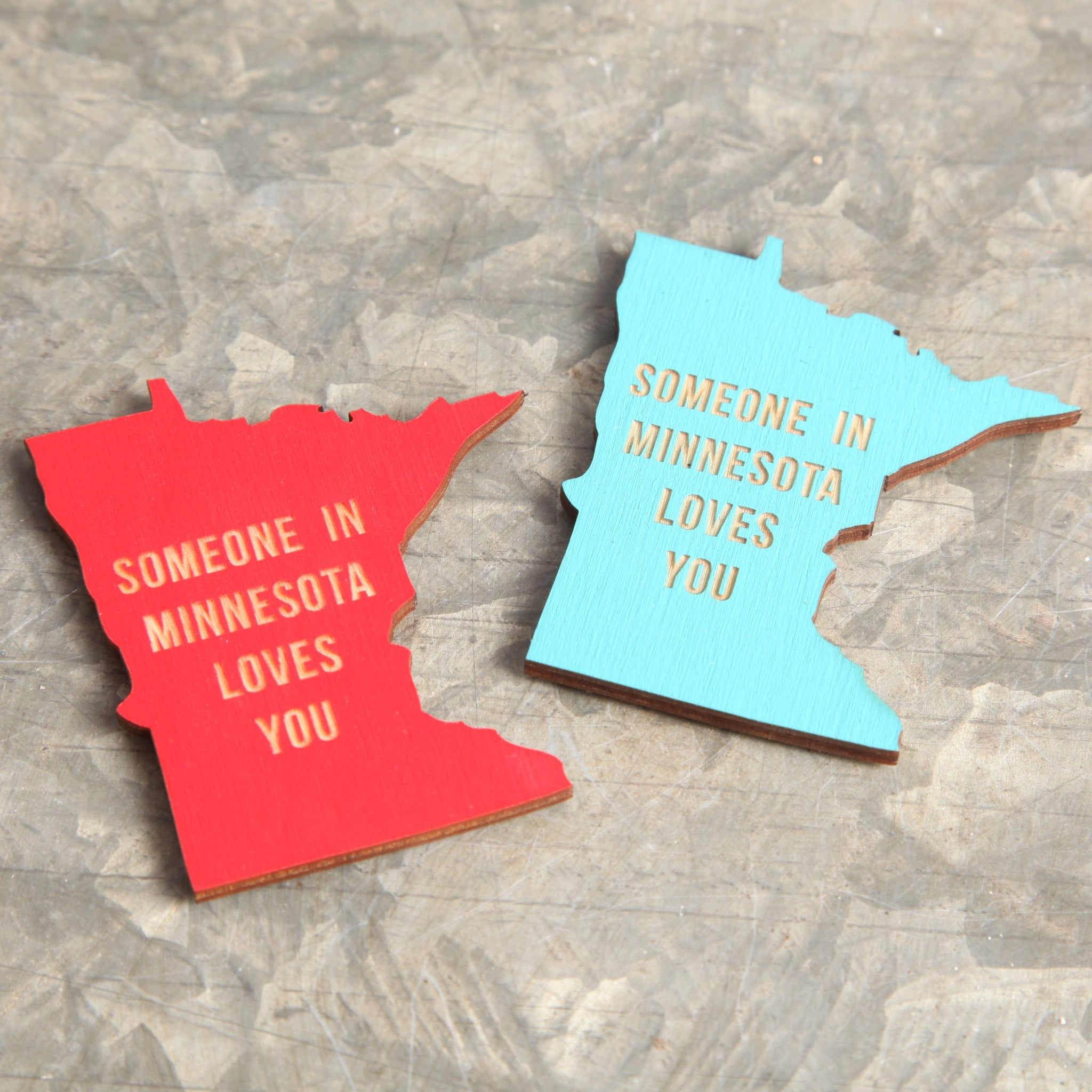 Someone In MN Loves You Magnet