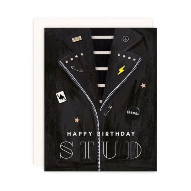 Stud Birthday Card