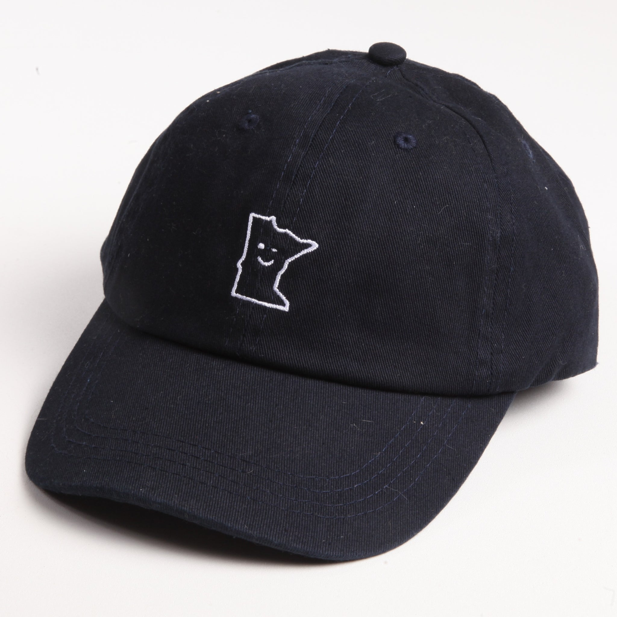 Navy MN Smile Hat