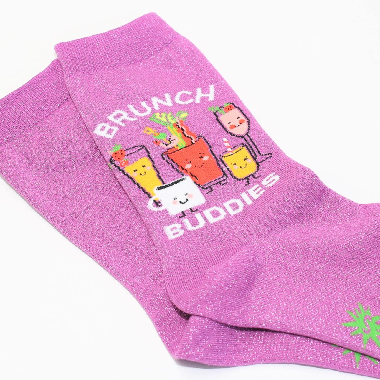 Brunch Buddies Sock