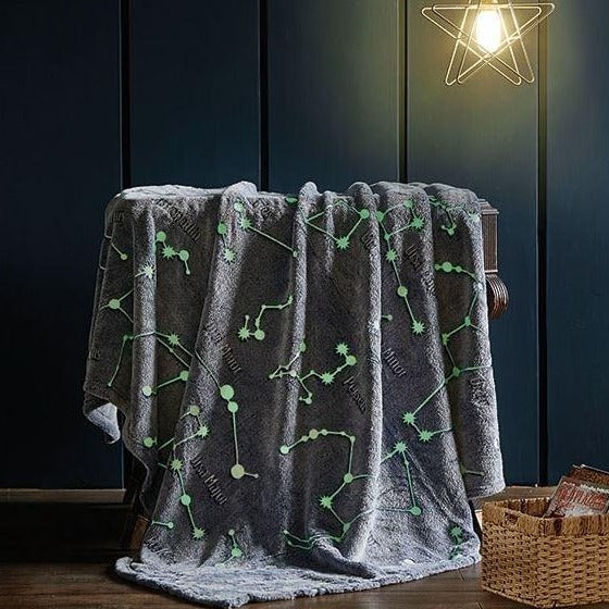 Glow-in-Dark Constellation Blanket