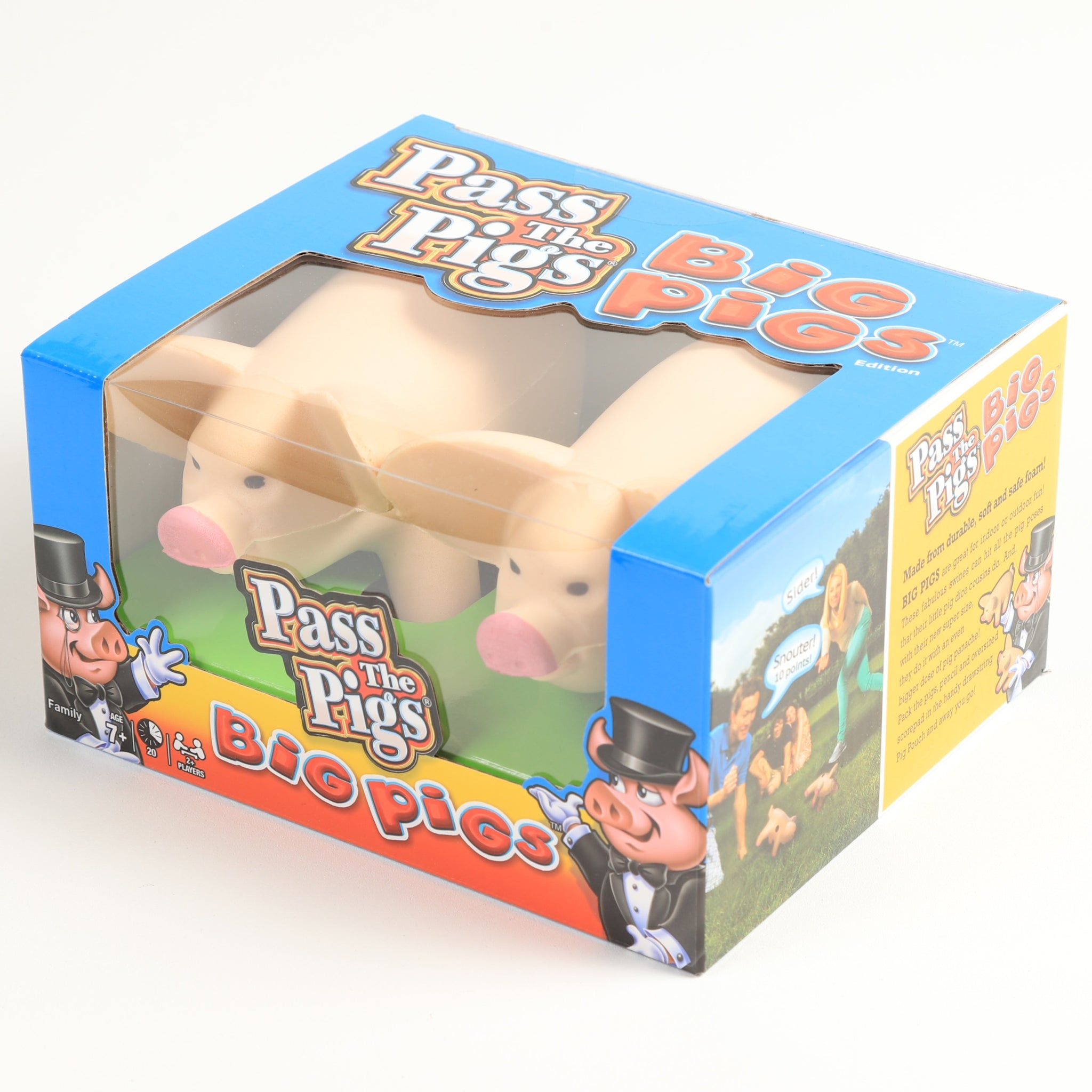 Pass Big Pig Game