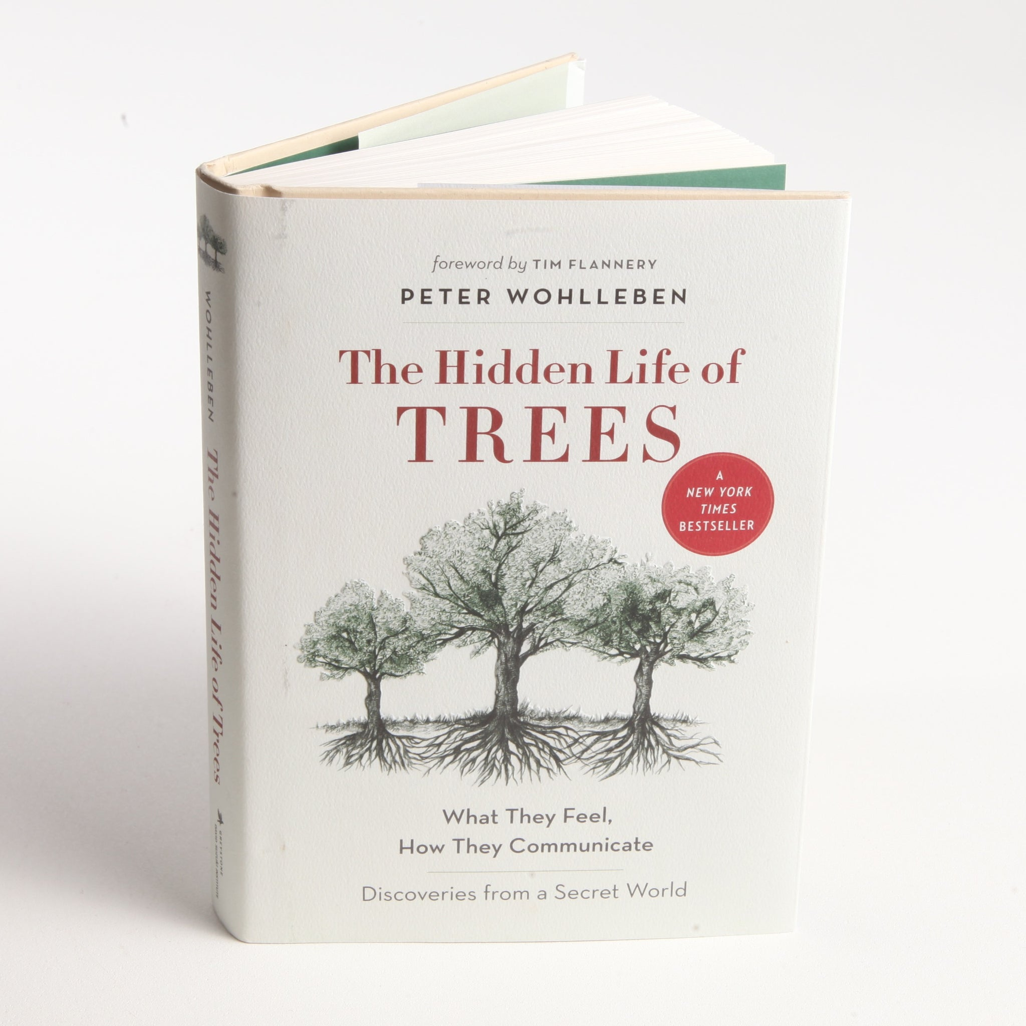 The Hidden Life of Trees Book