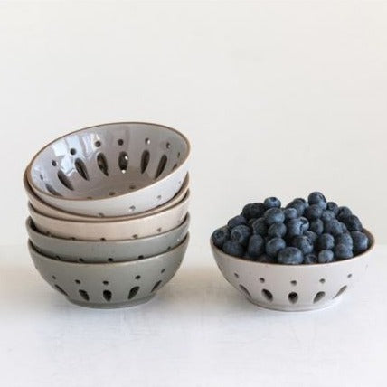Neutral Berry Bowl
