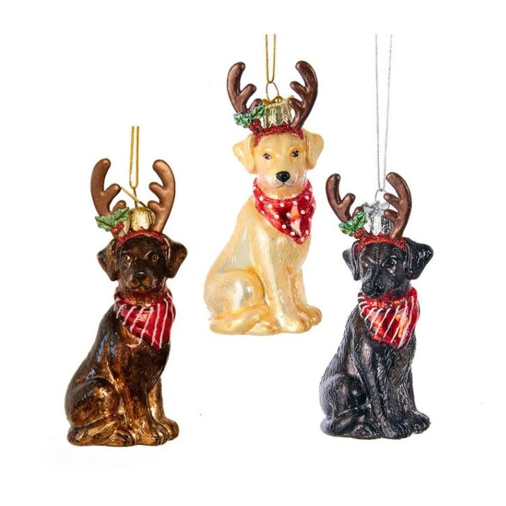 Dog Antlers Ornaments