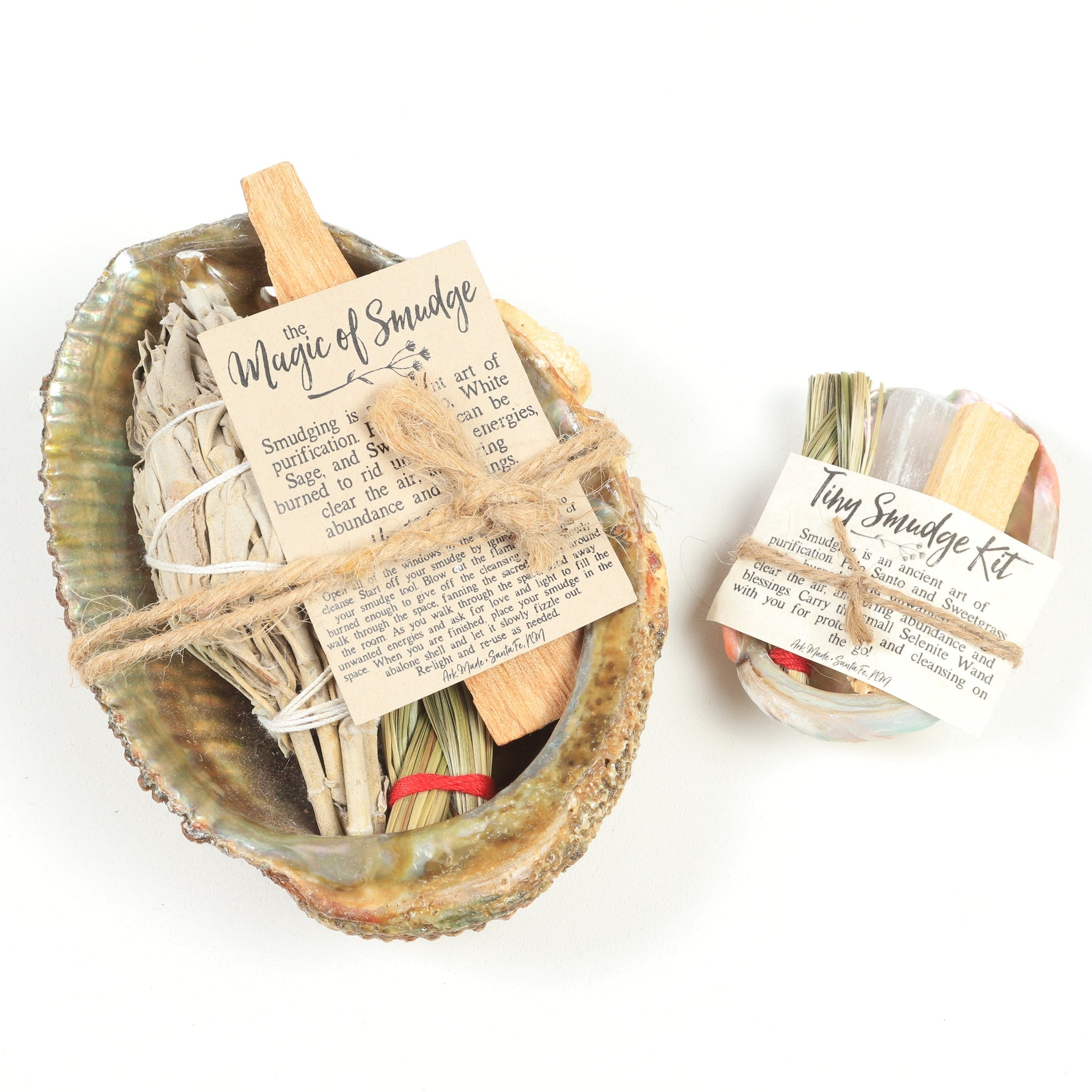 Palo Santo Shell Cleansing Kit