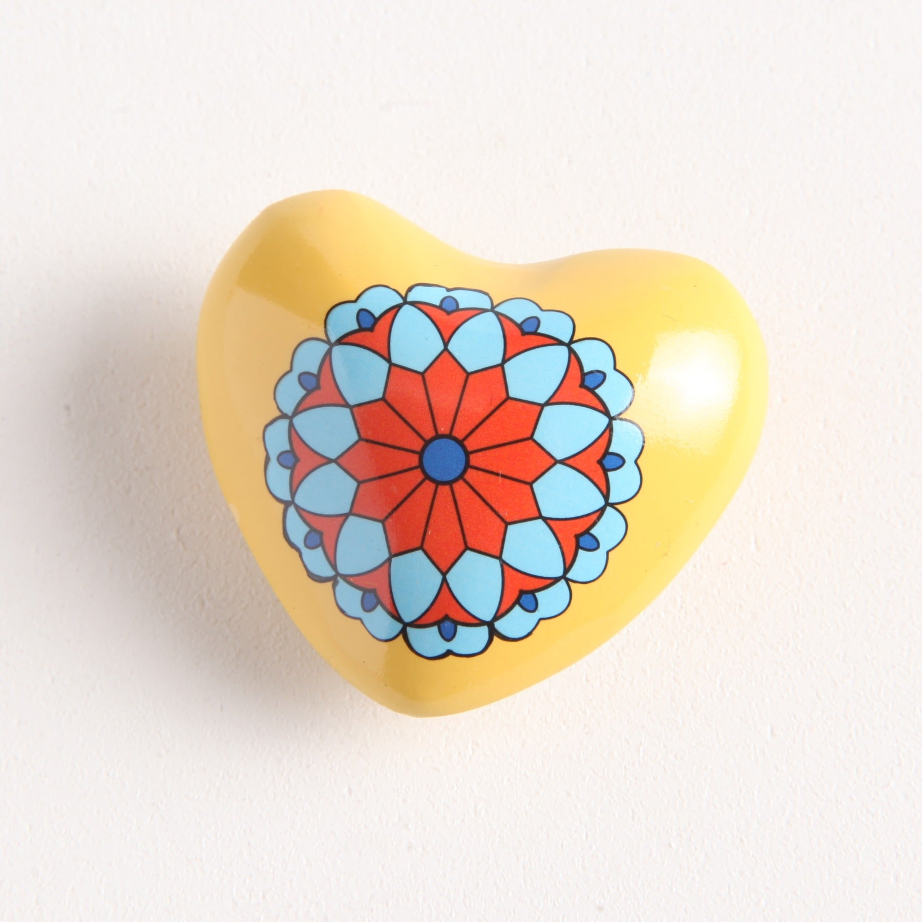 Painted Heart Chime