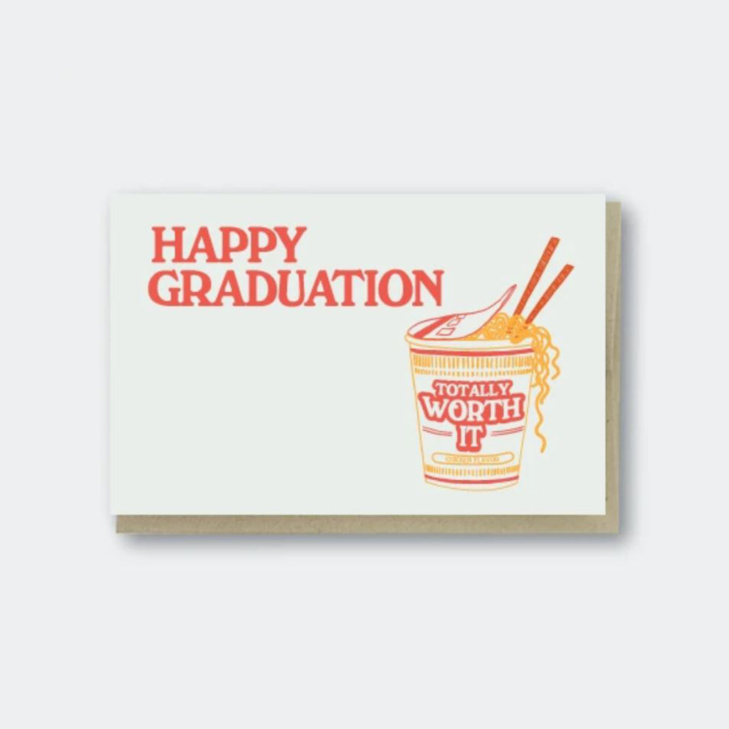 Grad Ramen Worth It Card