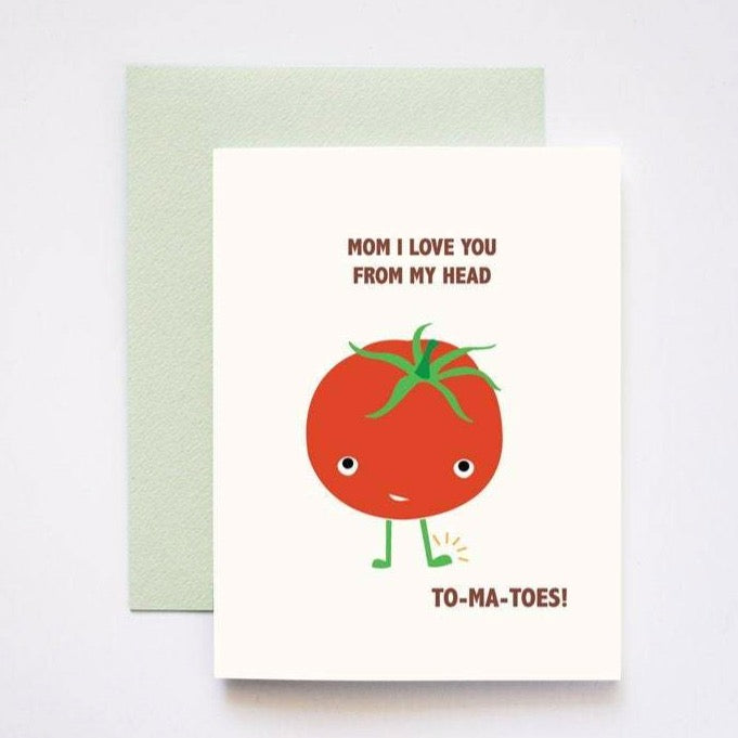 Love You Tomatoes Mother's Day Card
