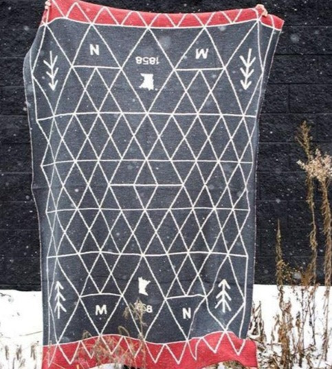 Red MN 1858 Blanket