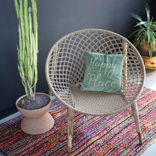 Cotton Ring Chair