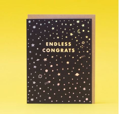 Endless Congrats Card
