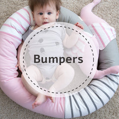 2. Baby cot bumpers