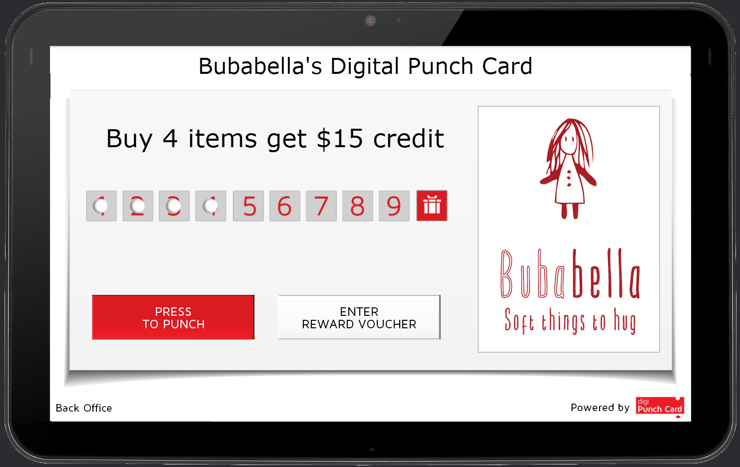 Digipunchcard loyalty punch card for business bubabella let me use this opportunity to introduce digipunchcard a digital punch card for retailers we use digipunchcard in our studio shops in israel magicingreecefo Image collections