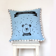 9.Nursery  decorative Pillow in blue free shipping