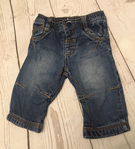 3-6 Months Lined Jeans
