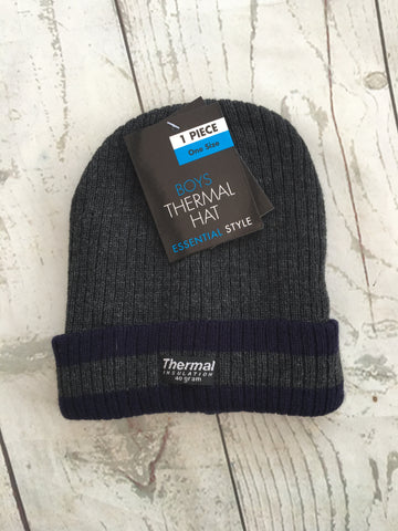 One Size Boys Thermal Hat