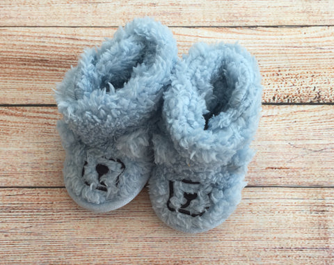 3-6 Months Fluffy Slippers