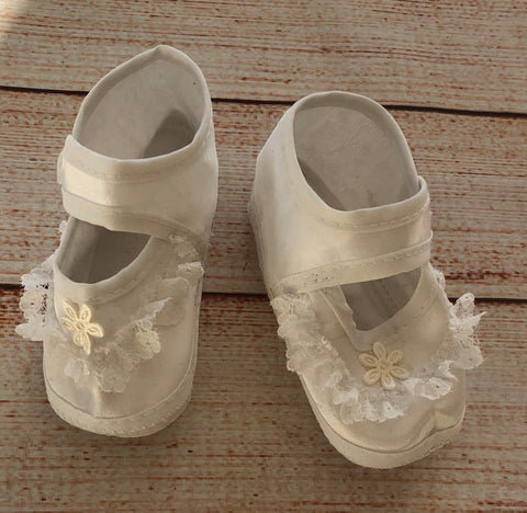 6-9 Months Satin Shoes