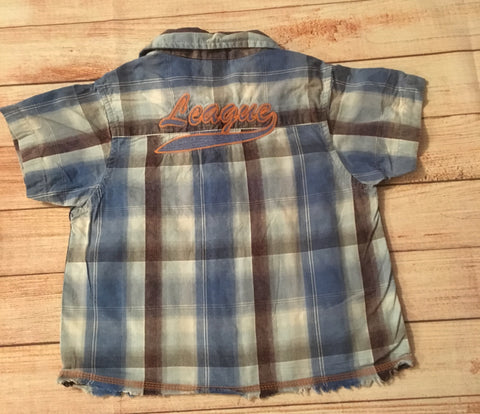 9-12 Months Checked Shirt