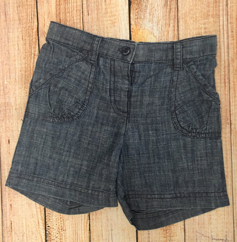 3-4 Years Chambray Shorts