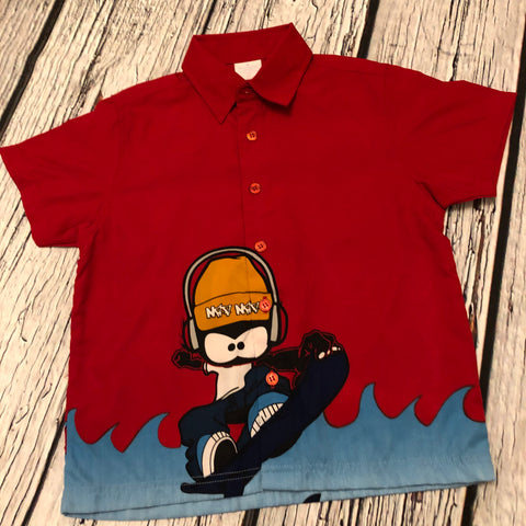 2-3 Years Polyester Shirt