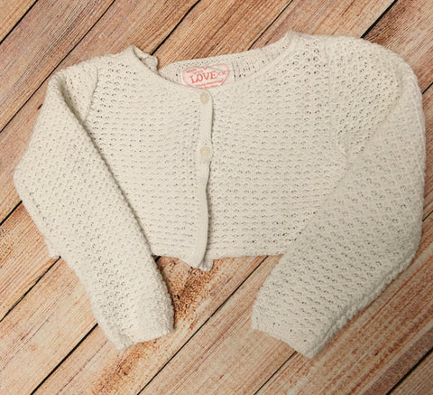 2-3 Years Cropped Cardigan