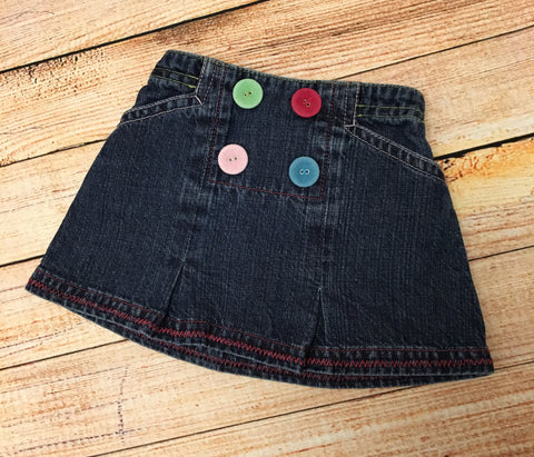 3-6 Months Denim Skirt