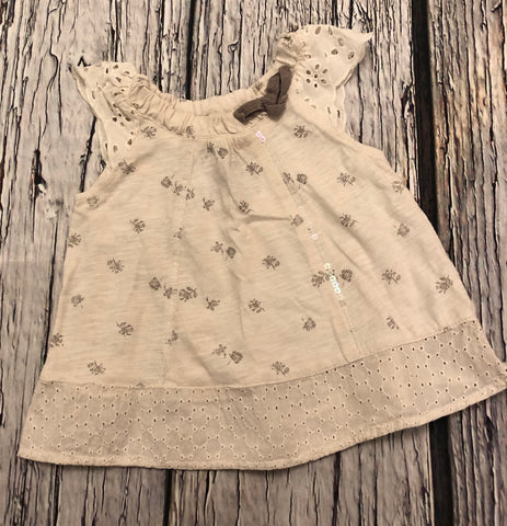 3-6 Months embellished tunic top