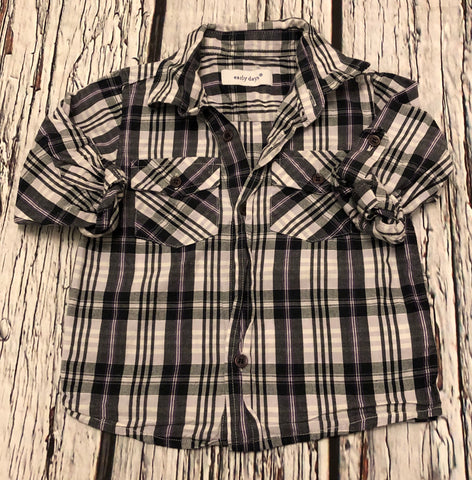 12-18 Months Checked shirt
