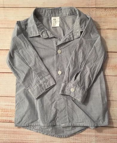 4-6 Months Checked Shirt