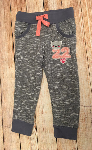 12-18 Months Slim Fit Cat Joggers