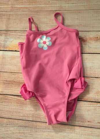 6-9 Months Pink Swimsuit