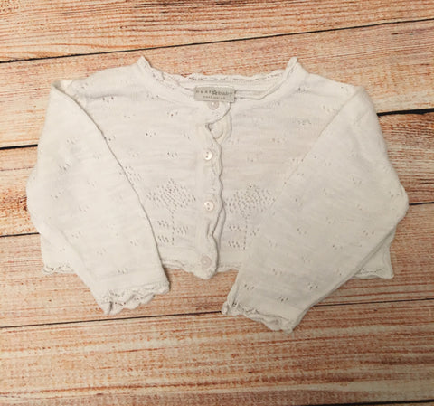 0-3 Months Cropped Cardigan